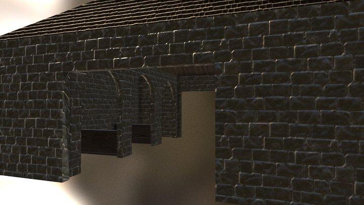 Stables 3D Model