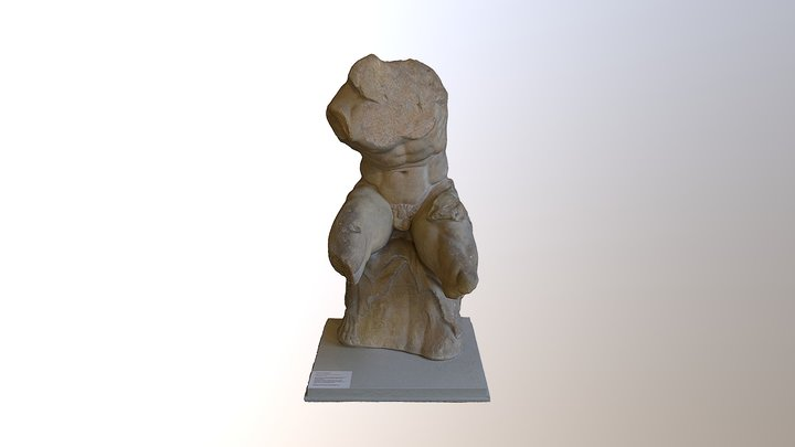 Torso vom Belvedere 3D Model