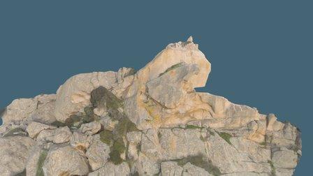 Lion de Roccapina, 20100 Sartène 3D Model