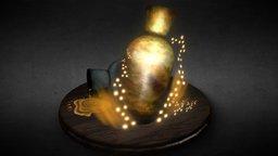 Article of the Chosen Undead: Estus Flask 3D Model