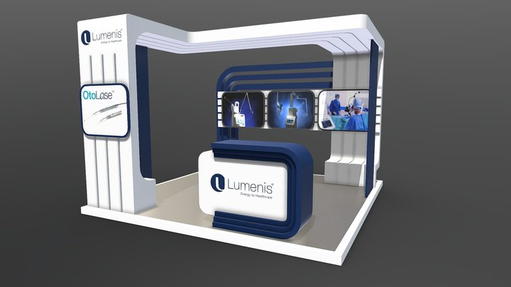 Lumenis Booth 3D Model