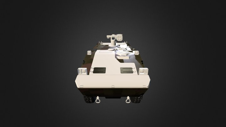 Guarani V2 3D Model