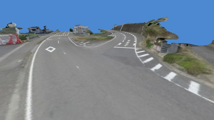Road Intersection by Digital Camera 3D Model