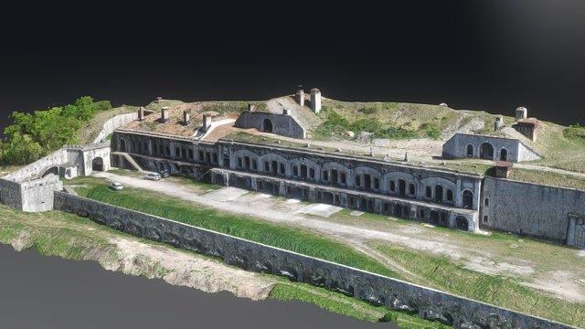 Fort de Comboire avec Squad3 & Samsung NX500 3D Model