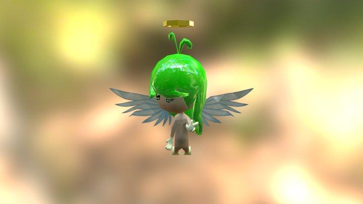 Angel - Low Poly - Final 3D Model