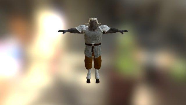 Musk Ox 3D Model