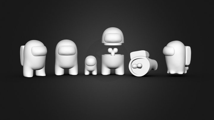 Who Are Impostor ? STL for 3DPRINT 3D Model