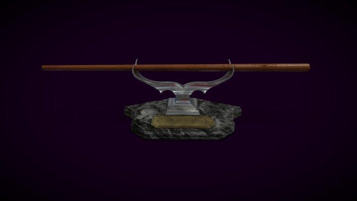 James Potter's Wand 3D Model