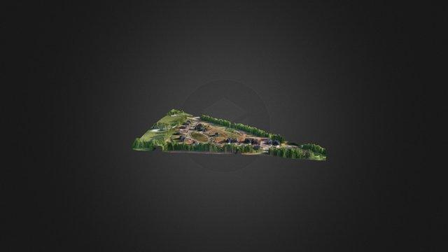 Georgetown KY UAV Mapping Flight 3D Model