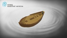 Renaissance boat BC02 (Aid. 118067) 3D Model