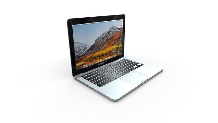 Macbook Pro 15'' 3D Model