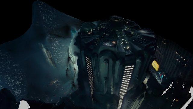 Blade Runner - Building 3D Model