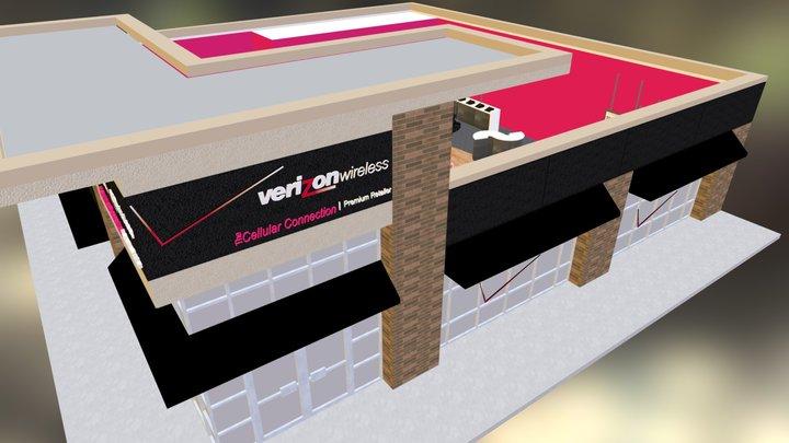 Verizon Wireless 3D Model
