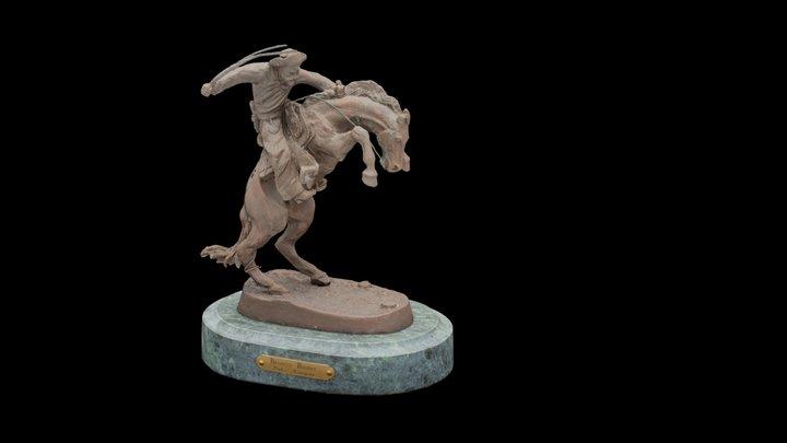 Bronco Buster Frederic Remington 3D Model