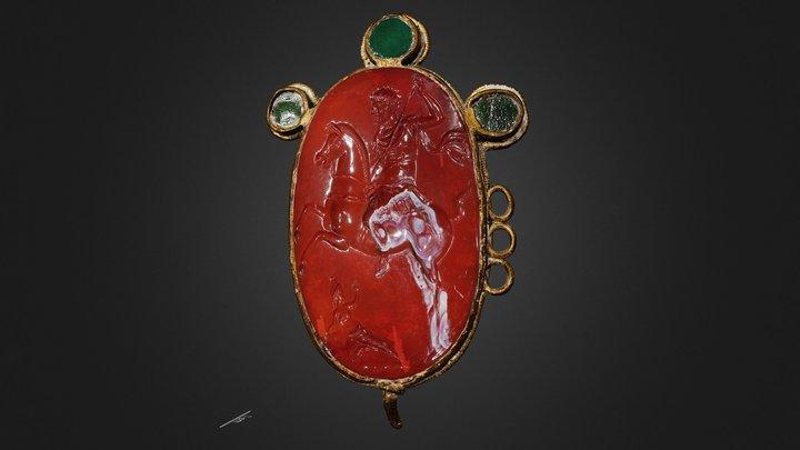 Intaille romaine   Roman Intaglio 3D Model
