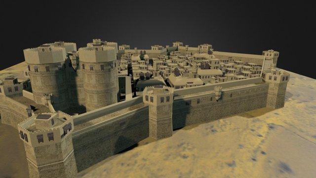 Persian City 3D Model