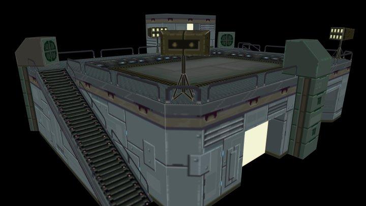 Landing Pad 3D Model