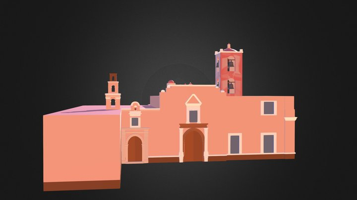 Parroquia Asuncion Pachuca 3D Model