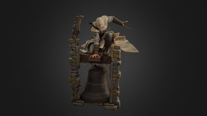 Altair Figure - Low Poly 3D Model