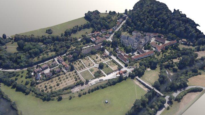 Kloster Schöntal 3D Model
