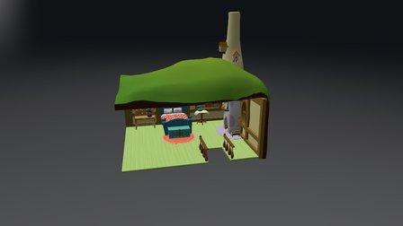 Fluttershy's Bedroom 3D Model