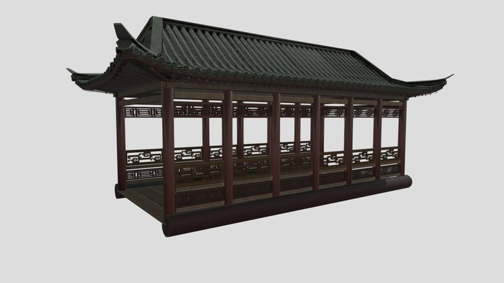 Low Bridge 3D Model
