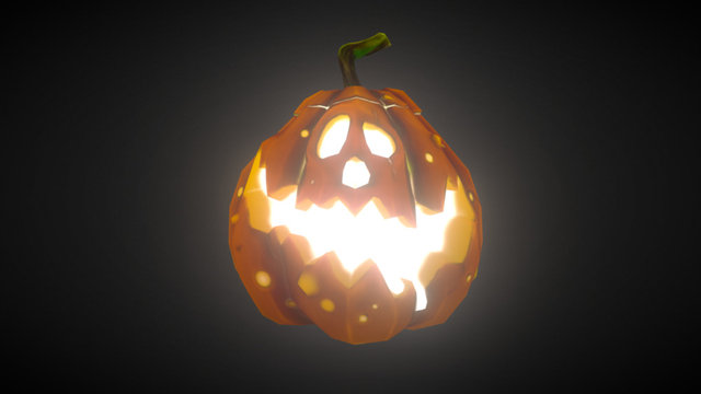 Pumpkina Loween 3D Model