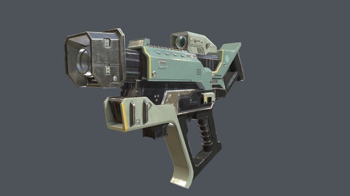 Engineers Gun 3D Model