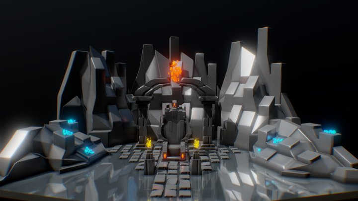 Throne Concept   (Free Download) 3D Model
