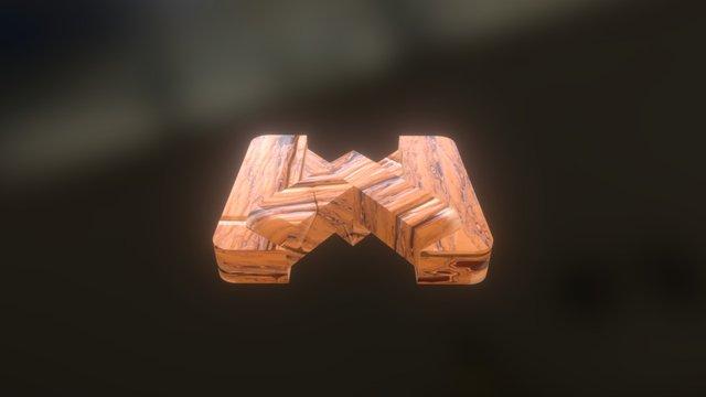 Realistic Flooring Wood 1 3D Model