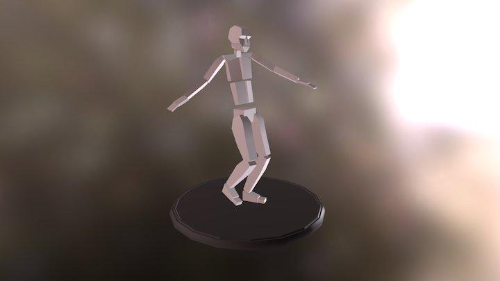 Sneak Animations 3D Model