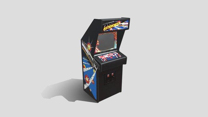 Asteroids Arcade 3D Model
