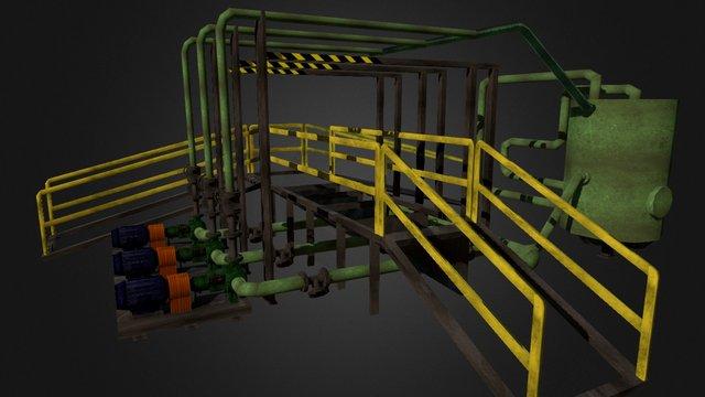 Ramp Model 3D Model