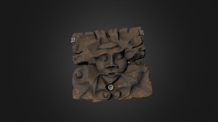Owston Abbey 'Green Man' 3D Model
