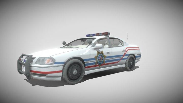 Chevrolet Impala Highway Patrol 3D Model