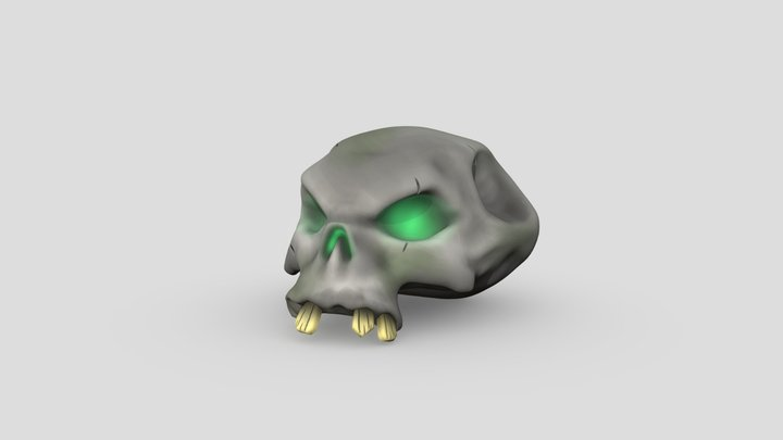 Sea Of Thieves Foul Bounty Skull (Fan Art) 3D Model