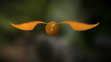 Quidditch Golden Snitch (SGP) 3D Model