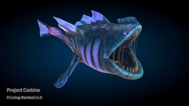 Hungry Fish 3D Model
