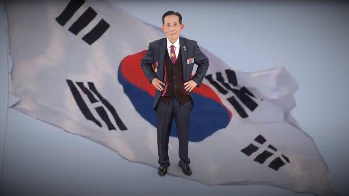 전북동부보훈지청 6.25 70주년 이순철 참전용사님 3D Model