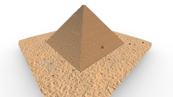 Great Pyramid of Giza 3D Model