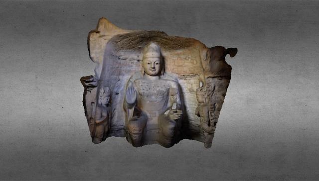 Buddha - Datong, China 3D Model