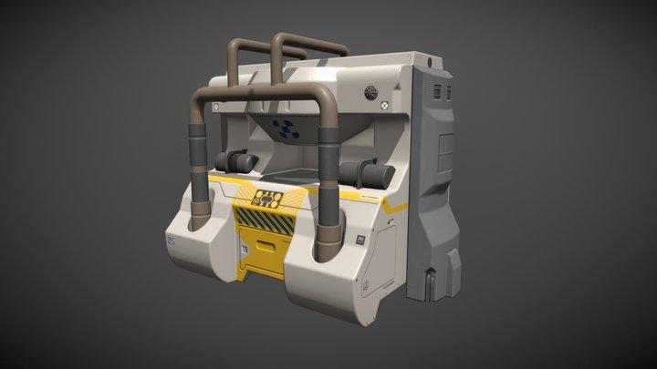 Sci-Fi Machine - Replicator 3D Model
