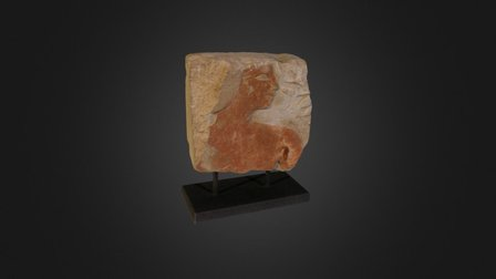 Egyptian Relief 3D Model