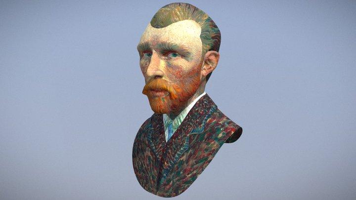 Vincent Van Gogh Portrait 3D Model
