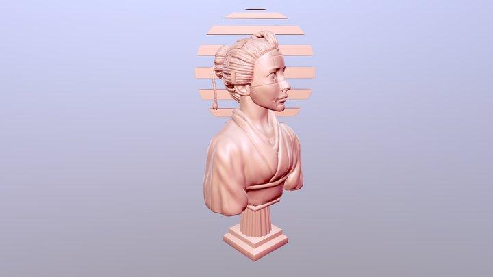"""DocDraws' """"Girl"""" 3D Model"""