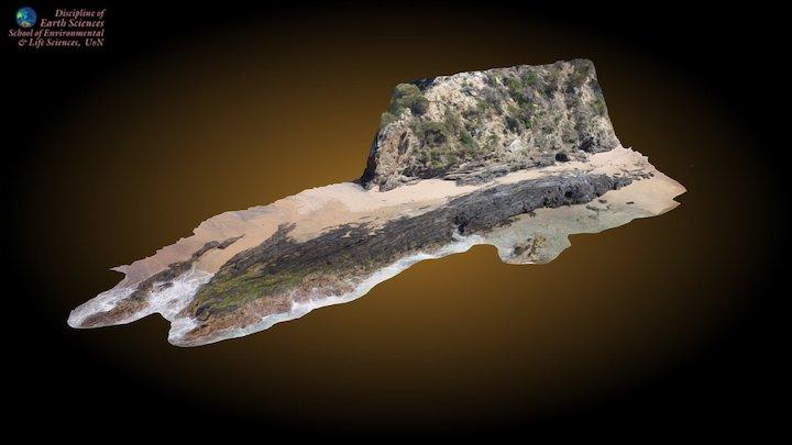 Myrtle Beach south  UAV 3D Model