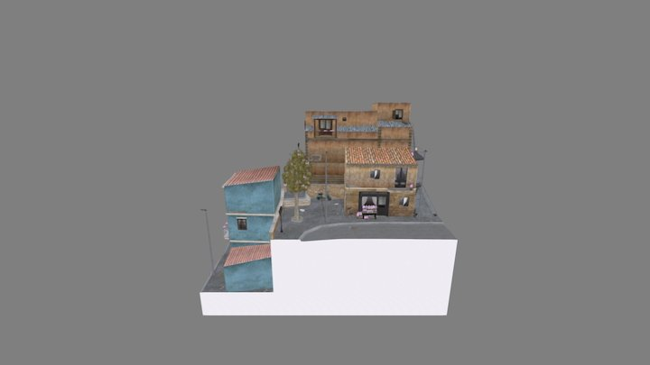 CityScene (DAE Bert Matthys) (old version) 3D Model