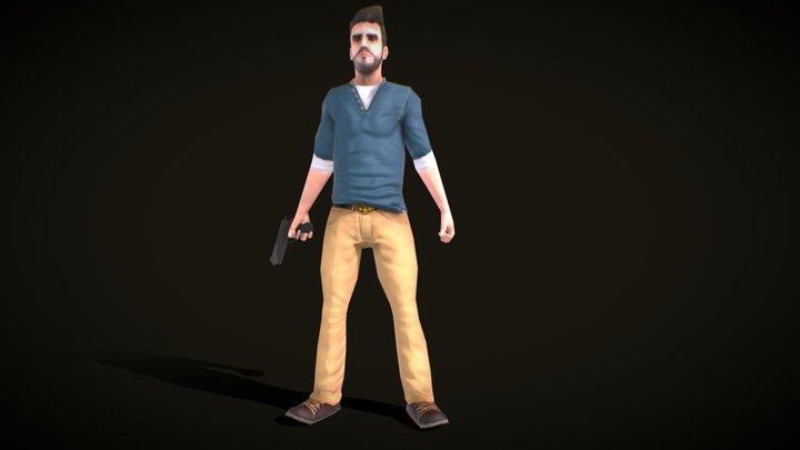 Blake - The Adventurer Version 3 3D Model