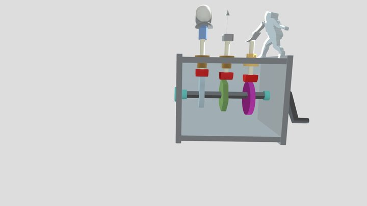 Automata Assembly 3D Model