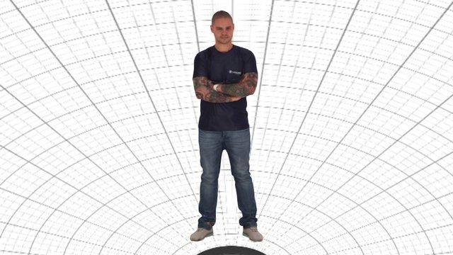 Steve VITRONIC shirt 3D Model